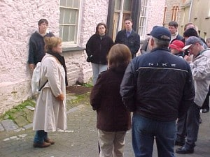 Ghost walk 3 May 2002
