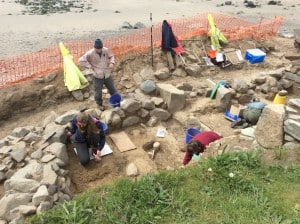 Whitesands Dig at burial ground